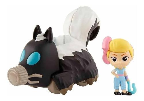 bo peep & skunkmobile - toy story 4 minis - mattel