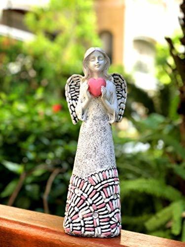 bo toys   ángel de hada con energía solar y corazón brillant