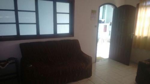 boa casa com edicula, no balneário gaivota, em itanhaém