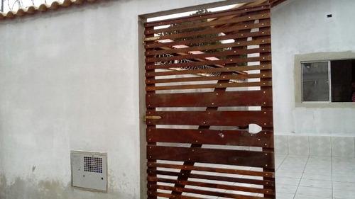 boa casa em fase de acabamento em itanhaém/sp - ref 2977