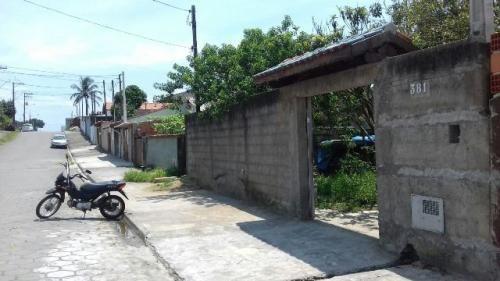 boa casa em itanhaém, litoral sul 700m da rodovia - ref 1766