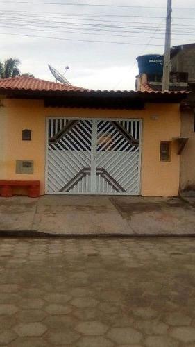 boa casa geminada no balneário gaivota, em itanhaém ref 3174