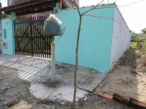 boa casa no balneário gaivota, em itanhaém