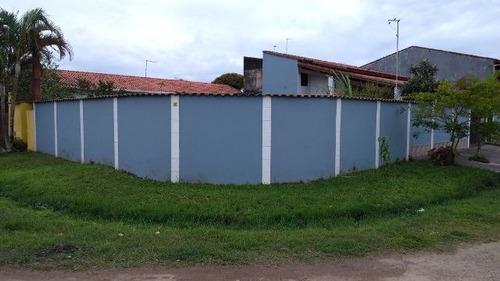 boa casa no balneário gaivota, em itanhaém - ref 3171