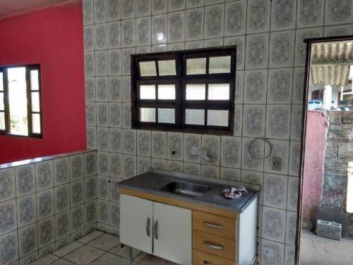 boa casa no balneário gaivota, em itanhaém - ref 4762