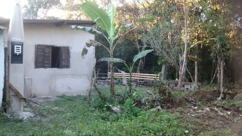 boa chácara com construção iniciada, em itanhaém - ref 2502