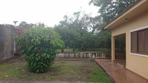 boa chácara no parque novaro - 3 dormitórios! itanhaém-sp!!!