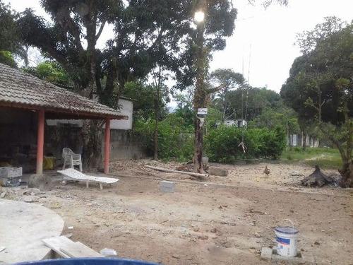 boa chácara no parque vergara, em itanhaém - ref 3375