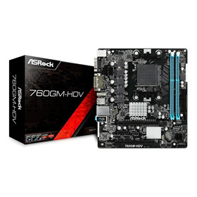 Board Asrock 760gm Hdv Am3+ Fx Ddr3