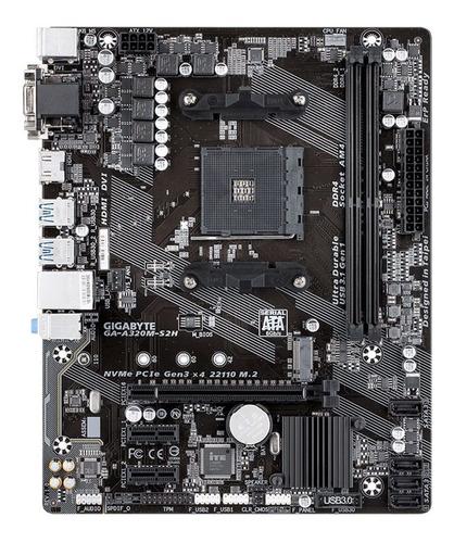 board gigabyte ga-a320m-s2h amd socket am4 ddr4 hdmi