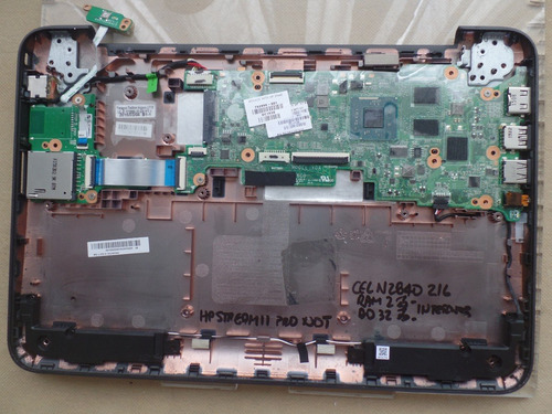 board hp stream 11 pro pc celeron n2840 2.16 ram 2gb dd32gb