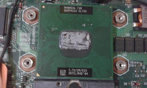 board +procesador portatil compaq nc6120