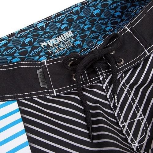 board short venum abyss black blue