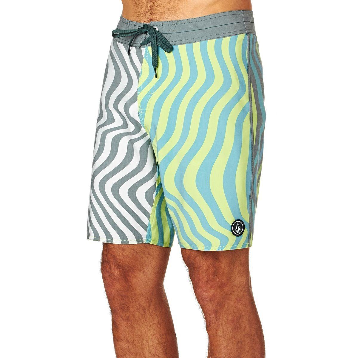 Spangler Hombre Egr Volcom Baño De Boardshort Short Traje IvYf6g7by