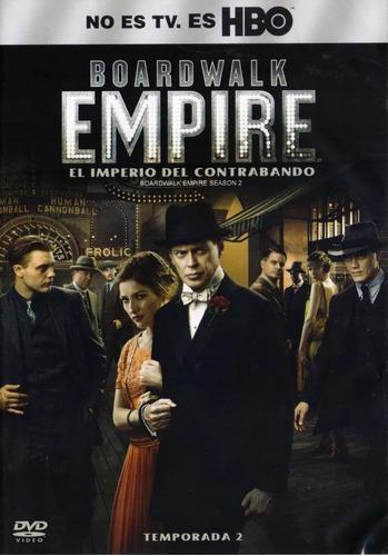 boardwalk empire imperio del contrabando temporada 2 dos dvd