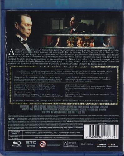 boardwalk empire tercera temporada 3 tres blu-ray