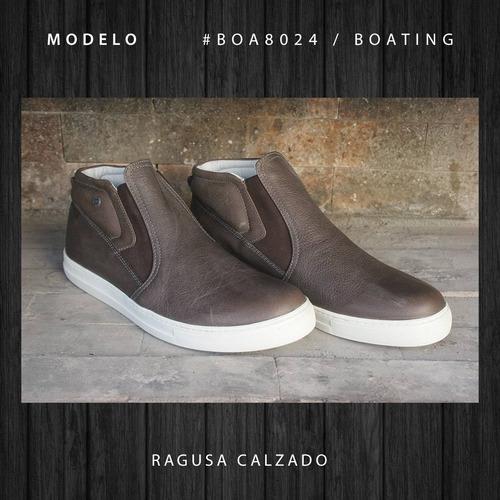 boating hombre zapatillas botitas