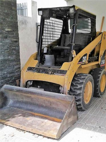 bob-cat (pala mecanica) marca caterpillar (año 2006 )