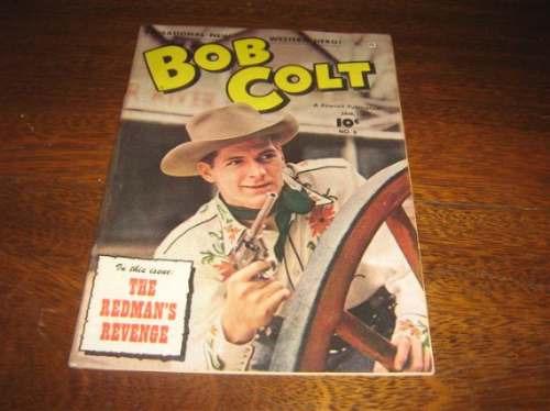 bob colt nº 8  janeiro de 1952 original em inglês