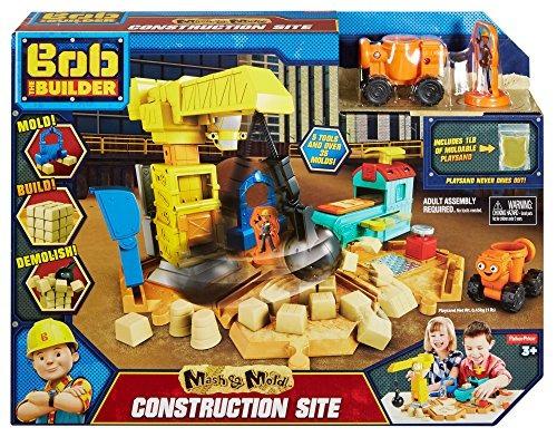bob constructor mash y sitio construcción moldes fisher-pric