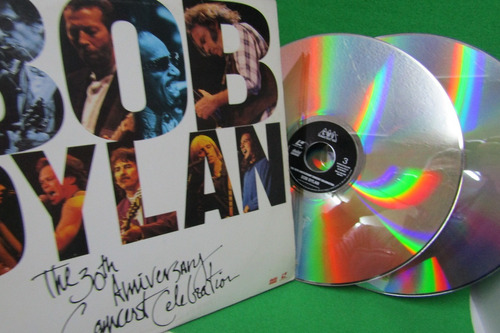 bob dylan 30 aniversary  doble laser disc video eilcolombia
