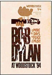 bob dylan at woodstock '94    dvd nuevo y sellado