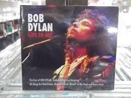 bob dylan live to air cd original