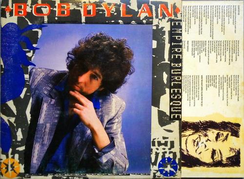 bob dylan lp empire burlesque 1985 + encarte 11669