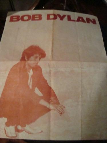 bob dylan programa original 1° concierto en argentina 1991