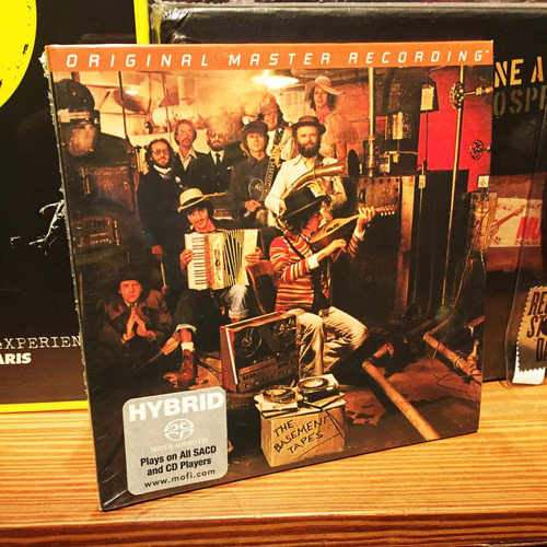 bob dylan & the band the basement tapes sacd hybrid