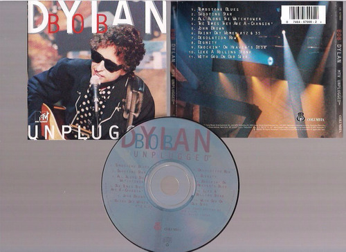 bob dylan  - unplugged - cd - by maceo