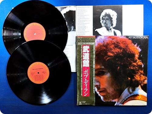 bob dylan.at budokan.vinil duplo. japan. obi +booklet.1978