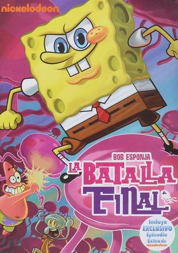 bob esponja la batalla final pelicula en dvd