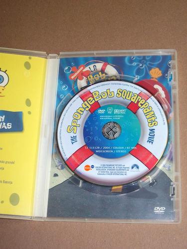 bob esponja la pelicula dvd