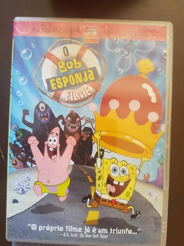 bob esponja o filme    dvd original   frete $ 9