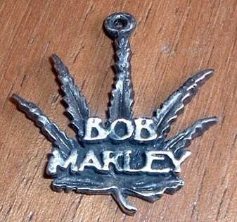 bob marley dije rustico metal aleacion rock