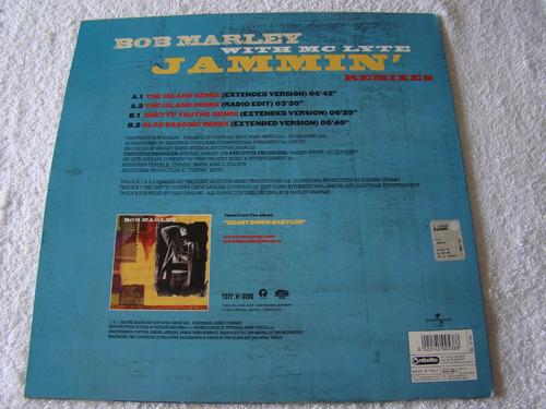 bob marley jammin´ remixes lp italia vinilo  excelente++++