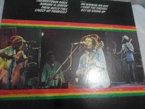 bob marley. live. vinil import. japan. com encarte. 1975