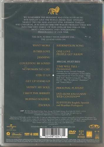 bob marley the best of legend dvd lacrado original novo