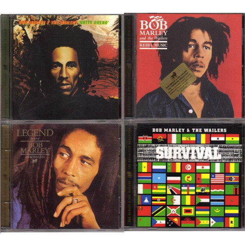 bob marley & the wailers definitive remaster 10 cd impecable