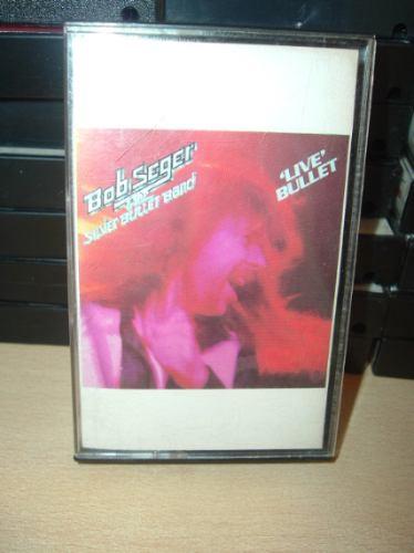 bob seger live bullet cassette americano