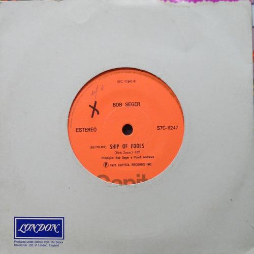 bob seger night moves - compacto vinil capitol 1976 estéreo