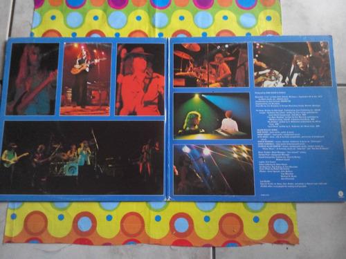 bob seger & the silver bullet band lp'76 live bullet. u.s.a.