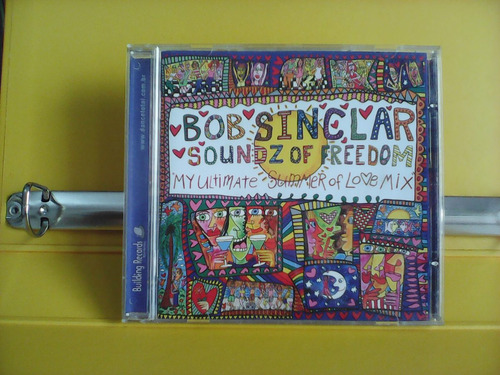 bob sinclar - soundz of freedom - cd