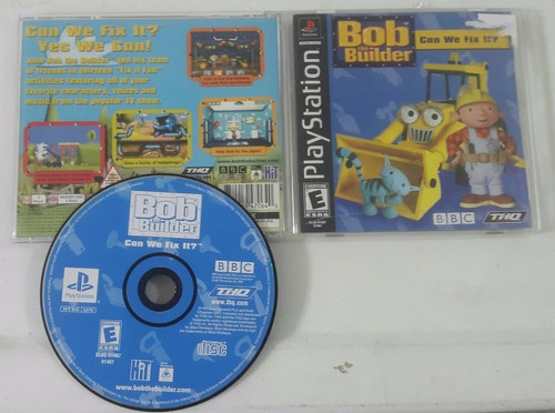 bob the builder - can we fix it? / playstation 1 ps1 ps2 ps3
