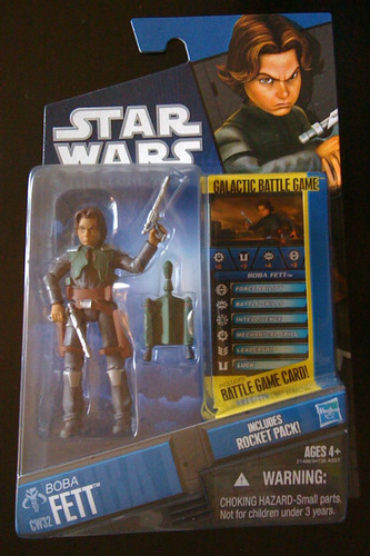 boba fett niño cw32 star wars the clone wars trabucle