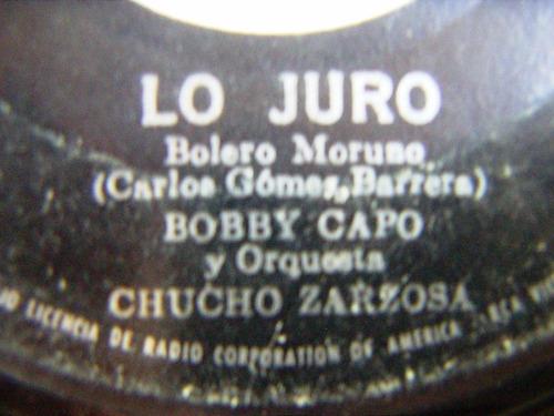 bobby capó y orquesta chucho zarzosa, canta twist, ep 7´,