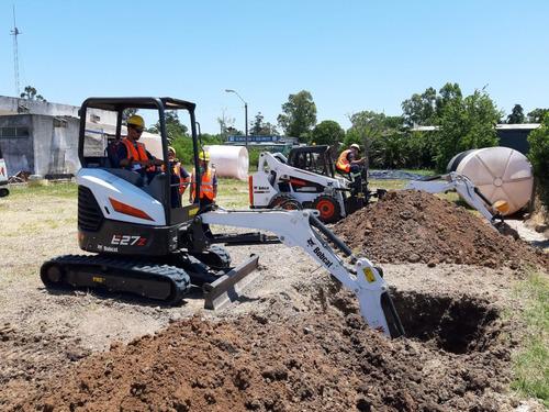 bobcat excavadora miniexcavadora orugas nuevo y usado