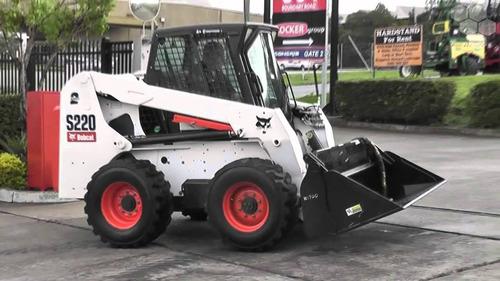bobcat s220 2007yr  $16,999