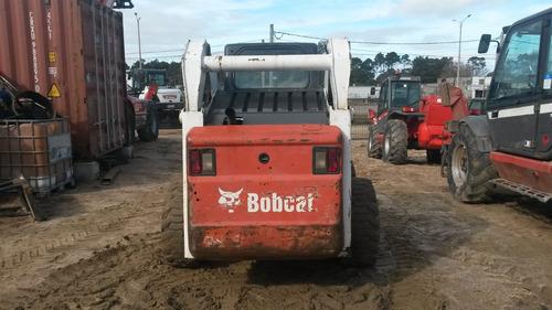 bobcat s250 cabinado con a/a y rodado ancho